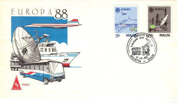 Malta 1988 Europa d