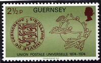 Guernsey 1974 U.P.U. a