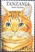 Tanzania 1999 Cats of the World i