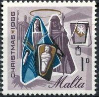 Malta 1966 Christmas a