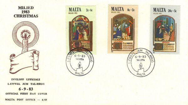 Malta 1983 Christmas h