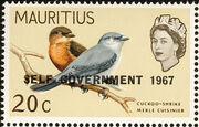 Mauritius 1967 Self-Government Overprints g