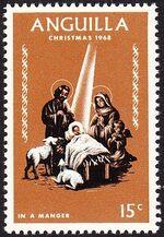 Anguilla 1968 Christmas c