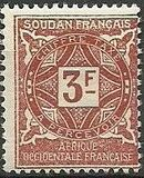 French Sudan 1931 Postage Due j