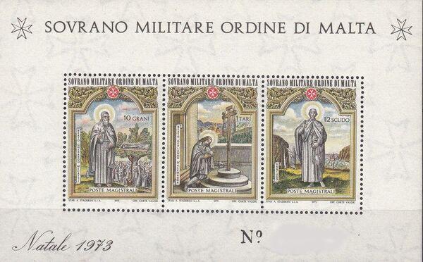 Sovereign Military Order of Malta 1973 Christmas g