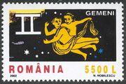 Romania 2002 The Signs of the Zodiac c
