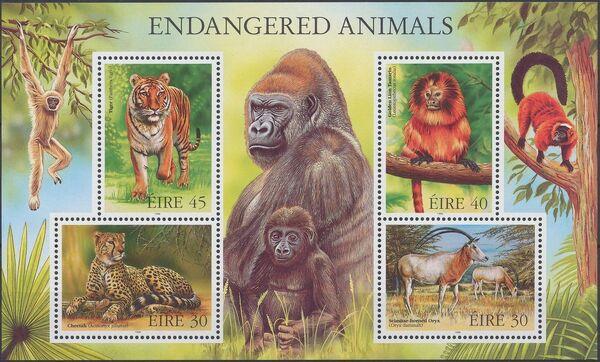Ireland 1998 Endangered Animals w