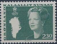 Greenland 1981 Queen Margrethe II b