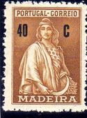 Madeira 1929 Ceres (London Issue) j