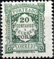 Azores 1922 Postage Due Stamps of Portugal Overprinted (1st Group) a.jpg