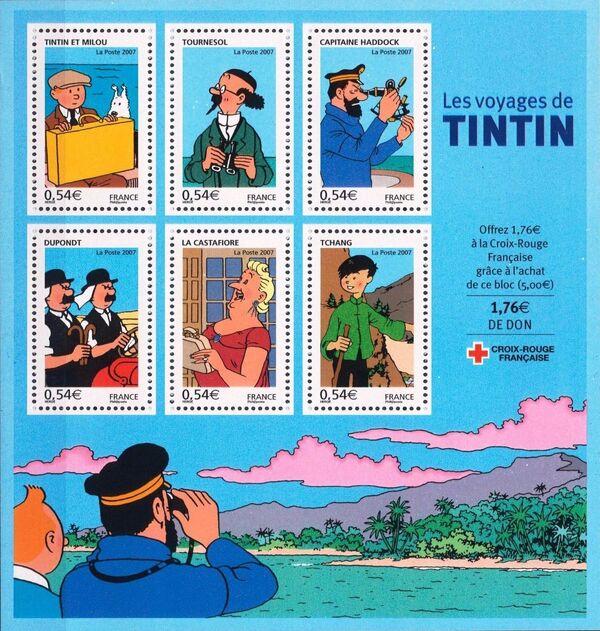 France 2007 Comics - Tintin h