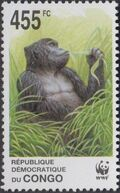 Congo, Democratic Republic of 2002 WWF Gorillas d