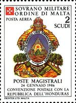 Sovereign Military Order of Malta 1986 Agreements Concluded by The Postal q