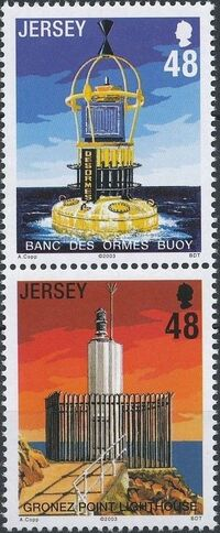 Jersey 2003 Lighthouses and Buoys c