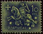 Portugal 1953 Definitives - Medieval Knight o