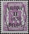 Belgium 1938 Coat of Arms - Precancel (2nd Group) b.jpg