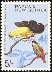 Papua New Guinea 1965 Birds g