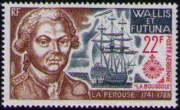 Wallis and Futuna 1973 Explorers and their Ships a