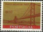 Portugal 1966 Inauguration of Salazar Bridge a