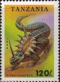 Tanzania 1994 Prehistoric Animals d