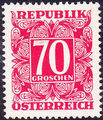 Austria 1949 Postage Due Stamps - Square frame with digit (1st Group) i.jpg