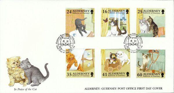 Alderney 1996 In Praise of the Cat i