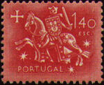 Portugal 1953 Definitives - Medieval Knight h