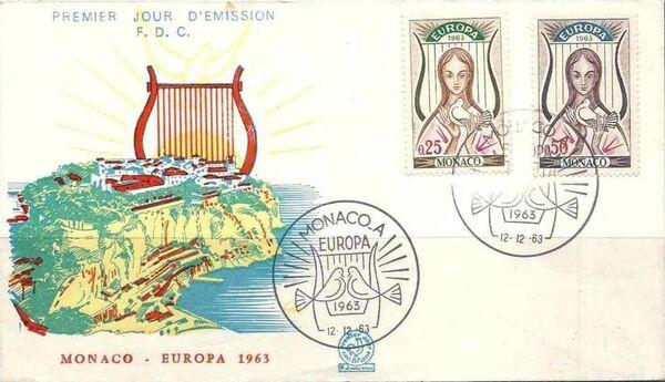 Monaco 1963 Europa j