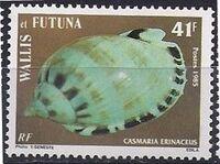 Wallis and Futuna 1985 Sea Shells c