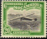 Mozambique Company 1935 Inauguration of the Airmail (2nd Issue) d