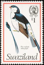Swaziland 1976 Birds n