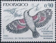 Monaco 1982 Birds from Mercantour National Park d