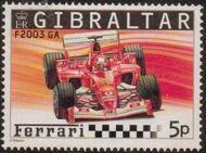 Gibraltar 2004 Ferrari Formula 1 Cars a