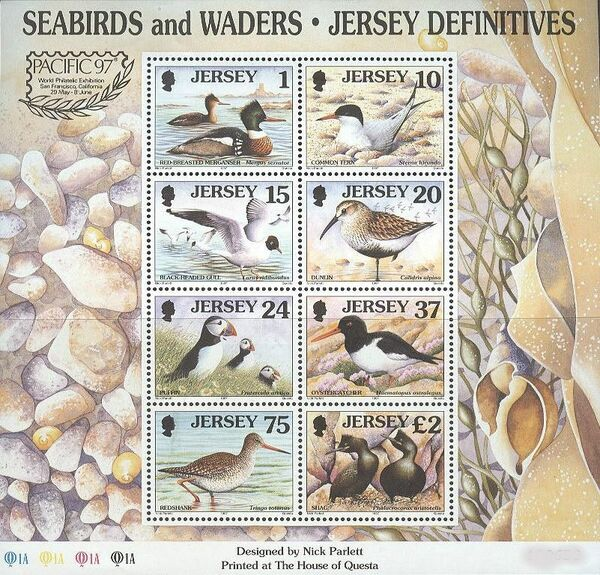 Jersey 1997 Seabirds and waders k