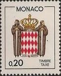 Monaco 1985 National Coat of Arms - Postage Due Stamps (1st Group) d