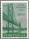Portugal 1966 Inauguration of Salazar Bridge d