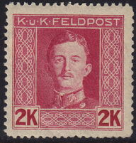 Austria 1917-1918 Emperor Karl I (Military Stamps) q