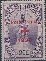 Portugal 1930 Red Cross - 400th Birth Anniversary of Camões f