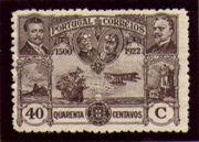 Portugal 1923 First flight Lisbon Brazil k