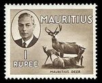Mauritius 1950 Definitives l
