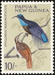 Papua New Guinea 1964 Birds e