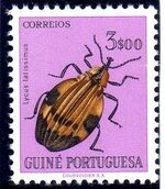 Guinea, Portuguese 1953 Guinea Insects h