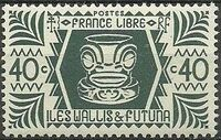Wallis and Futuna 1944 Ivi Poo Bone Carving in Tiki Design e