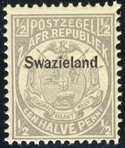 Swaziland 1889 Coat of Arms a