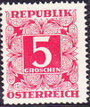 Austria 1949 Postage Due Stamps - Square frame with digit (1st Group) c.jpg