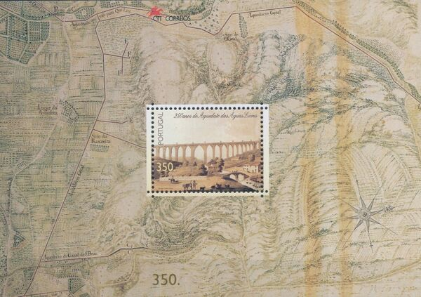 Portugal 1998 250th Anniversary of the Aquaduct Aquas Livres b