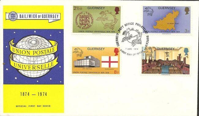 Guernsey 1974 U.P.U. h