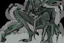 Wendigo concept art by tyedyedhydrangea-d5j21j5