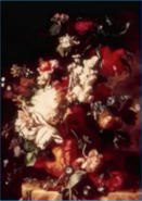 Dutch painting of flowers