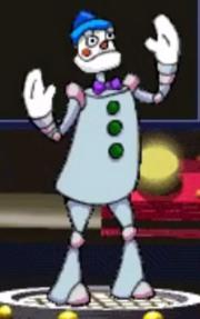 Pierrot-Bot Clown